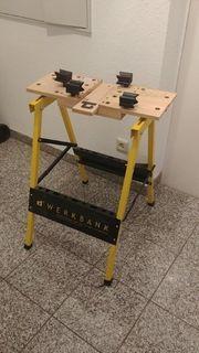Kinderwerkbank Werktisch Basteltisch