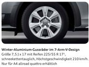 A4 Allroad B8 Winterreifen 7-Arm-V-Design