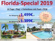 FLORIDA Spezialist 2020 Ferienhaus mit