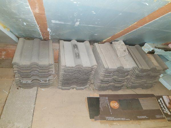 230 qm alte Dachziegel