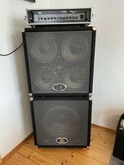 Ampeg Bassverstärker mit 4x10 und