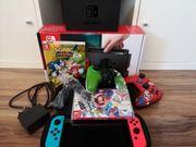 Nintendo switch Konsole inkl Spiele