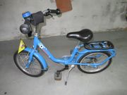 Jungs Fahrrad blau von Puky