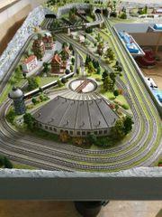 Eisenbahnalage Spur N mit Kato