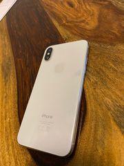 iPhone X 64gb Silber TOP