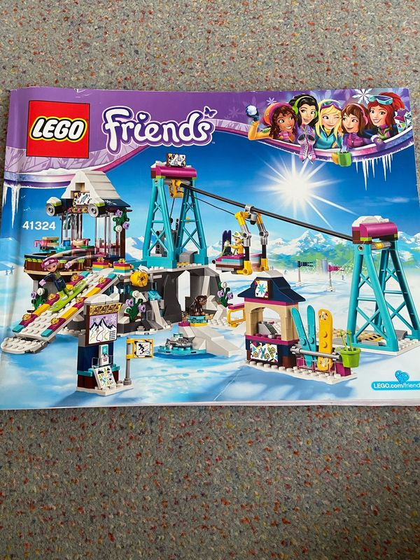 Lego Friends Wintersport-Skilift günstig zu