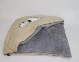 Zubehör für Haustiere - Tierhöhle Snoopy 70x70x15 cm von