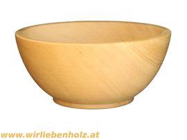 Geschirr und Besteck - Holzschale rund Zirbenholz verschiedene Durchmesser
