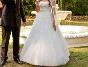 Hochzeitskleid A- Linie größe 36