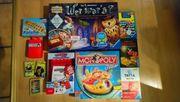 Spielesammlung Wer wars Monopoly Kokosnuss