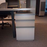 Schreibtischcontainer Rollcontainer 3 Schubladen 55cm