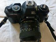 Spiegelreflex Kamera Ricoh XR-7M mit