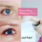 Hochwertiges Power-Wimpernlifting