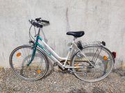 Damen-Fahrrad HERCULES 28 Zoll weiß