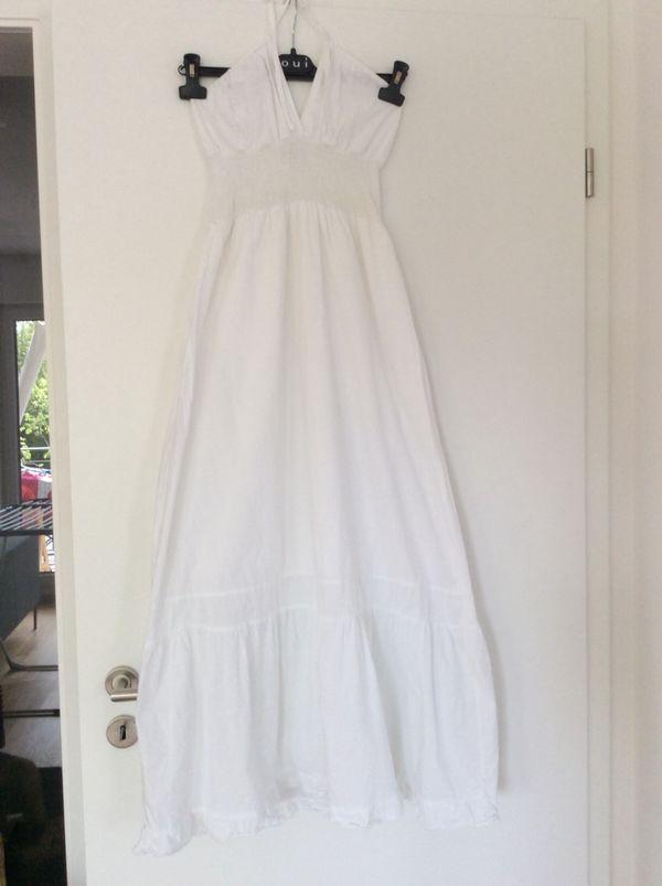 cheaper b7449 f7fd7 Weißes langes Kleid von the Planet Gr. 38 in Unterhaching ...