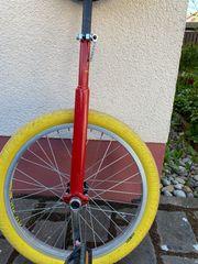 QU-AX Einrad Luxus 20 rot
