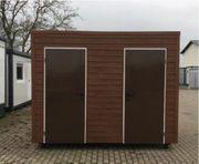Premium WC Container Toilettenbox Campingplatz-Toilette