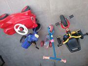 Kinderfahrzeuge Bobby Car Dreirad Scooter