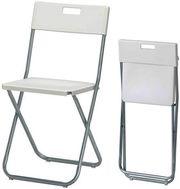 5x Klappstuhl Stuhl IKEA GUNDE