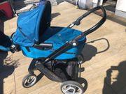 Kombi-Kinderwagen Mutsy Evo Petrol