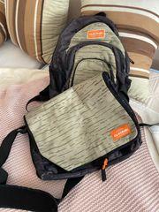 Rucksack und Laptop-Tasche
