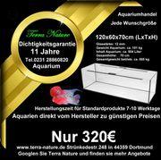 Aquarium-Handel 120x60x70cm ca 504 L