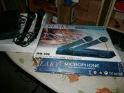Rlaky Funkmikrophon Mikrofon Kabelos