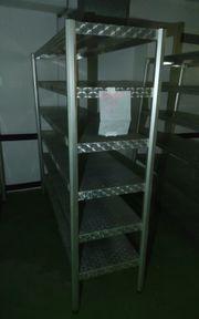 Kühlhaus Aluregal robust 194 x