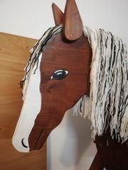 Holzpferd Voltigierpferd