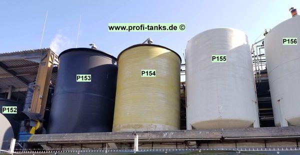 P150-154 gebrauchte 30 000L PEHD-Tanks