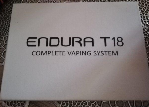 Endura T18 rosa E Zigarette