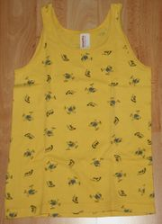 ORIGINAL - Gelbes Unterhemd - Größe 116 -