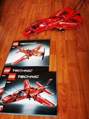 LEGO Technik rotes Flugzeug 2in1