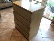 IKEA MALM Kommode 4 Schubladen