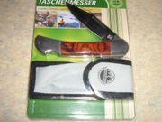 Adventuridge Taschenmesser inkl praktischer Nylontasche