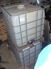 2 neue Wasserbehälter mit Kugelhahn