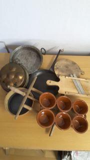 Antike Küchenartikel Deko Küchenartikel