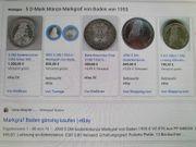 Eine Münze