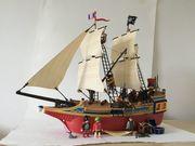 Playmobil Piratenschiff Großes Piraten Tarnschiff