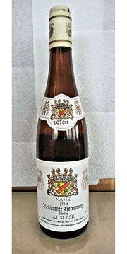 Wein-Rarität Nahewein Jahrgang 1976