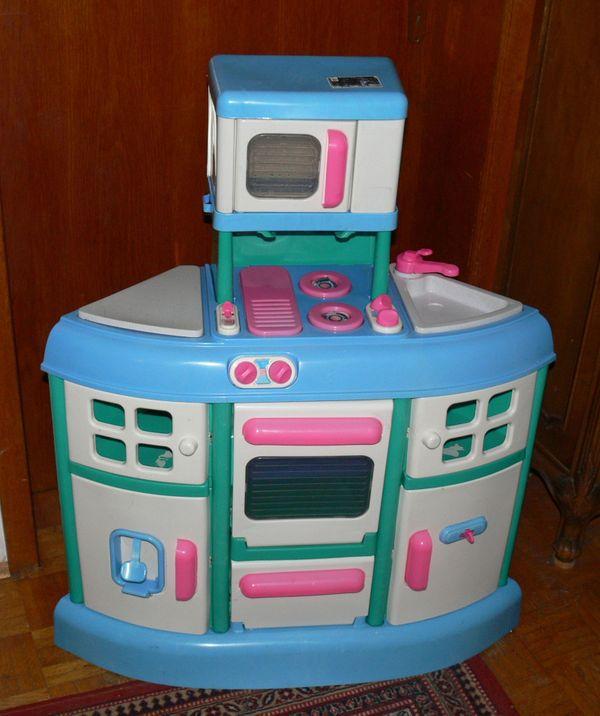 Spielküche, Kinderküche, Spielzeug-Küche + Zubehör in ...