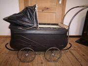 Antiker Kinderwagen 50er Jahre