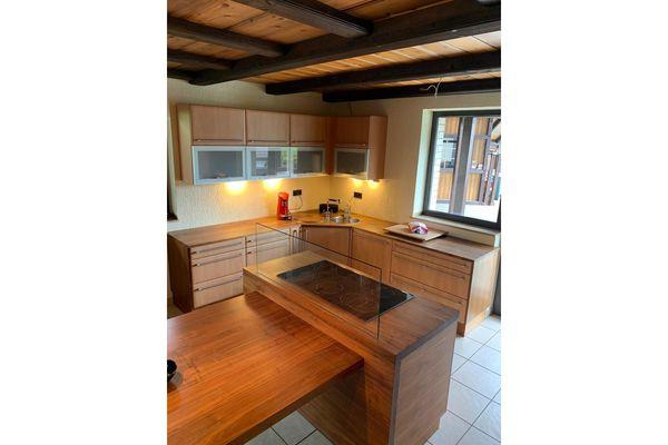 Küche kompl. ( 950 ) Alno Kochinsel Tisch hochwertig - HH23071JL