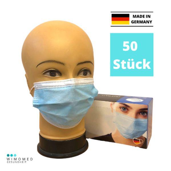 50x Mund-Nasenschutzmasken aus DEUTSCHLAND auf