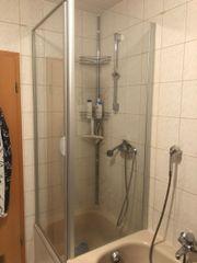 Glas Dusch Kabine für Badewanne