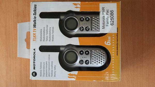 handliche Walkie-Talkies von Motorola für