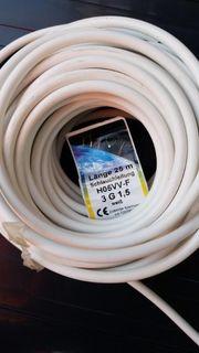 25m Schlauchkabel Elektrokabel 3 Phasen