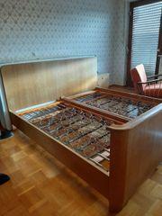Antikes Bett 40er Jahre Holz