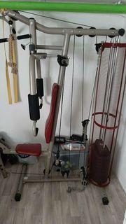 Trainingsgerät Muskelaufbau Gerät Multifunktionsgerät Heimtrainer