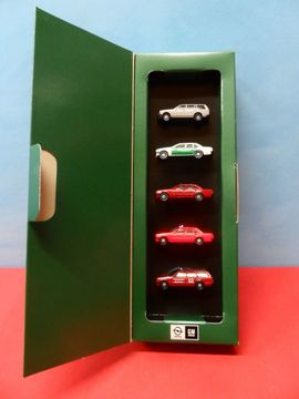 Modellautos - Modellauto Set - Opel Herpa Sonderpackung 1